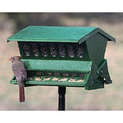 Double Sided Absolute II Squirrel Resistant Bird Feeder with Pole
