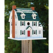 Dutch Colonial Bird House - BirdHousesAndBaths.com