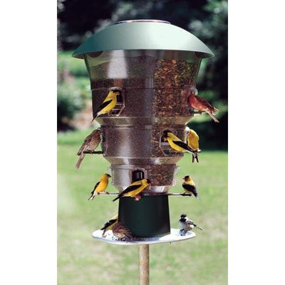 Electronic Squirrel Proof 12 port Bird Feeder - BirdHousesAndBaths.com