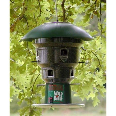 Electronic Squirrel Proof 8 port Bird Feeder - BirdHousesAndBaths.com