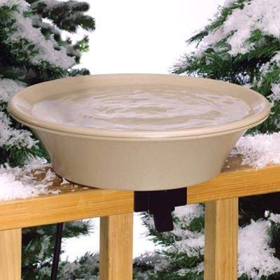 Four Seasons Heated Bird Bath