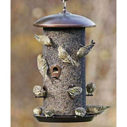 Giant Mesh Copper Colored Combo Bird Feeder - BirdHousesAndBaths.com