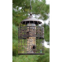 Grand Palace Caged Bird Feeder - BirdHousesAndBaths.com