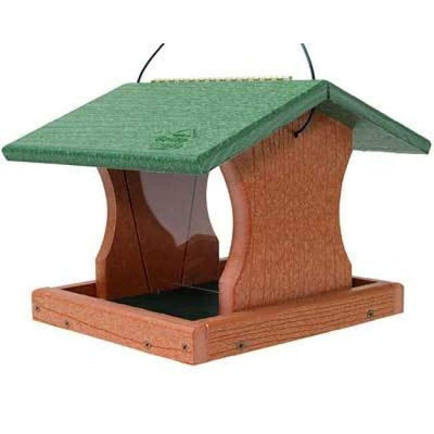 Going Green Premier Hopper Bird Feeder - BirdHousesAndBaths.com