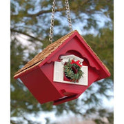 Little Hanging Holiday Wren Cottage - BirdHousesAndBaths.com