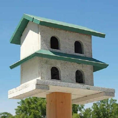 Hanover Purple Martin House with 4-Rooms - BirdHousesAndBaths.com