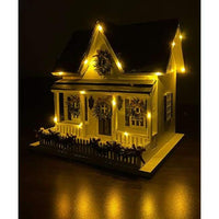 Holiday Bird House with LEDs - BirdHousesAndBaths.com