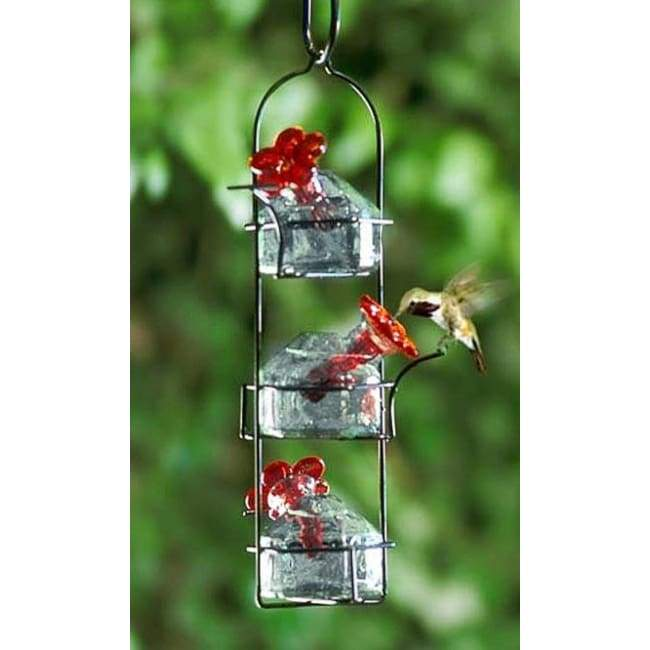 Lunch Pail Clear Hummingbird Feeder