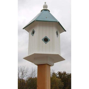 Magnolia Verdigris Roof Bird House