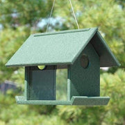 Hunter Green Mealworm Bird Feeder