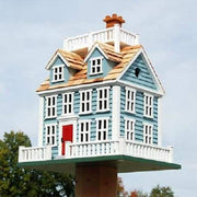 Nantucket Colonial Bird House - BirdHousesAndBaths.com