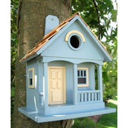 Pacific Grove Light Blue Bird House - BirdHousesAndBaths.com
