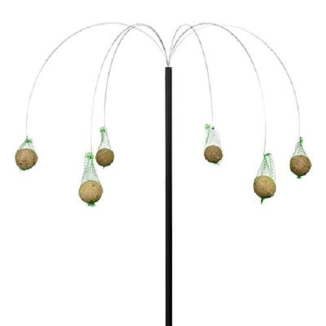Black Palm Tree Suet Ball Hanger