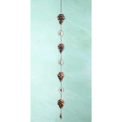 Pine Cone Decorative Hanging Chain - BirdHousesAndBaths.com