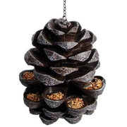 Hanging Pinecone Bird Feeder