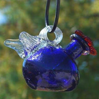 Pixie Blue Hummingbird Feeder