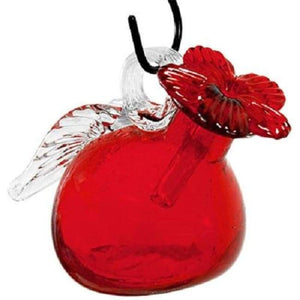 Pixie Hummingbird Feeder, Red - BirdHousesAndBaths.com