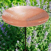 Copper Bird Bath and Stake