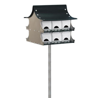 Purple Martin 12 Room House - BirdHousesAndBaths.com