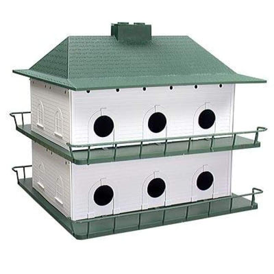 Two Story 12 Room Purple Martin House