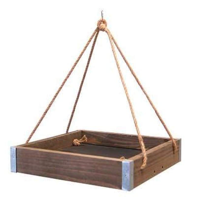 Rustic Farmhouse 3 in 1 Platform Bird Feeder - BirdHousesAndBaths.com