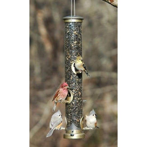 Seed Tube Wild Bird Feeder - BirdHousesAndBaths.com