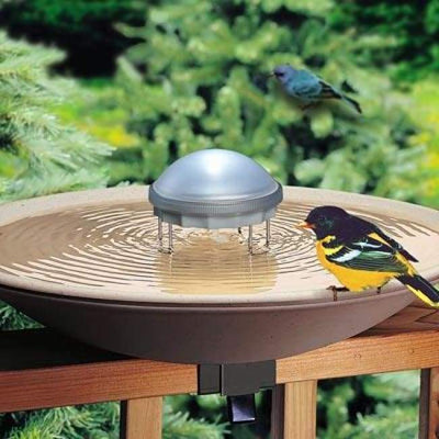 Solar Powered Water Wiggler - BirdHousesAndBaths.com