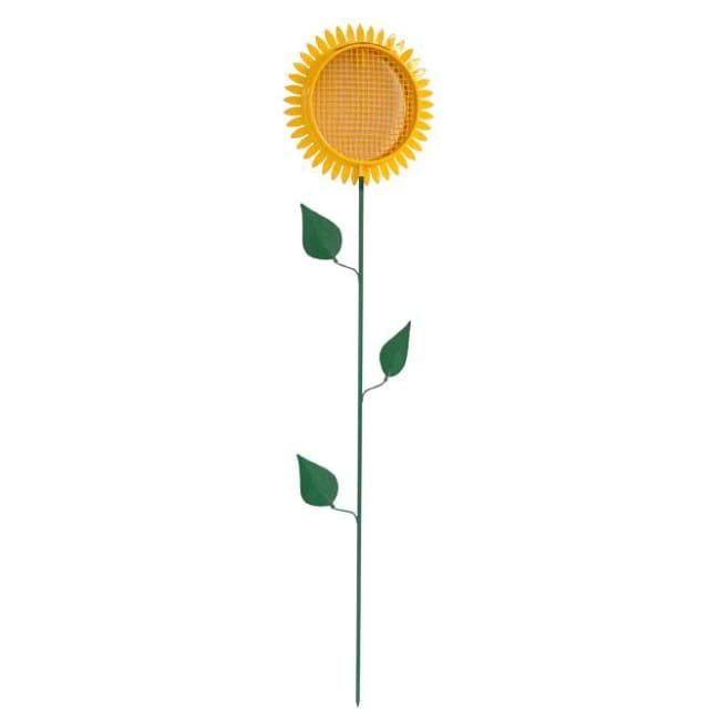 Sunflower Staked Bird Feeder - BirdHousesAndBaths.com