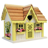 Sweetheart Cottage Bird House - BirdHousesAndBaths.com