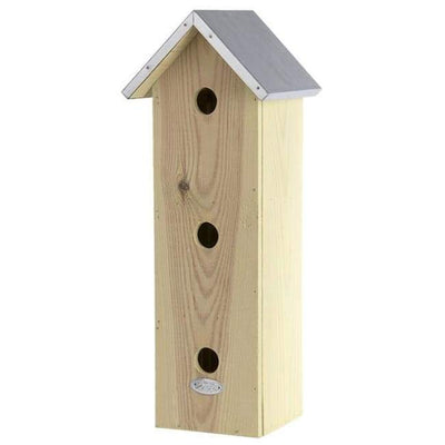 Three Story Bird House - BirdHousesAndBaths.com