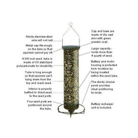 Yankee Flipper Squirrel Proof Bird Feeder - BirdHousesAndBaths.com