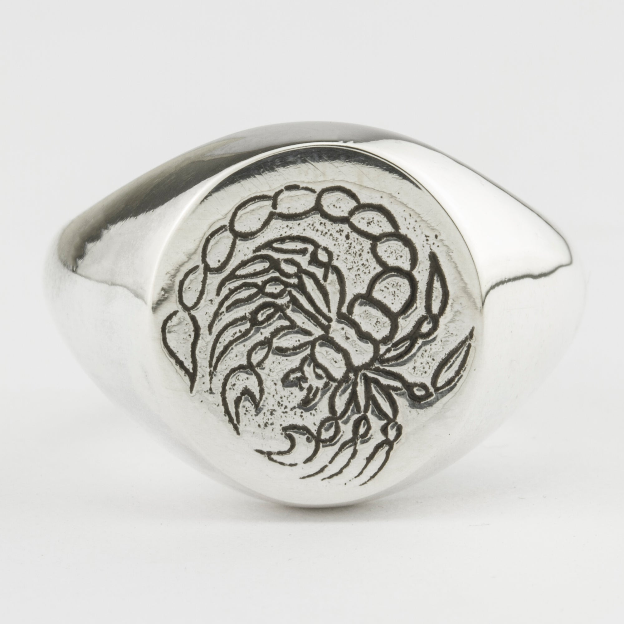 Henson x Thanks Tattoo - Scorpion Ring Silver