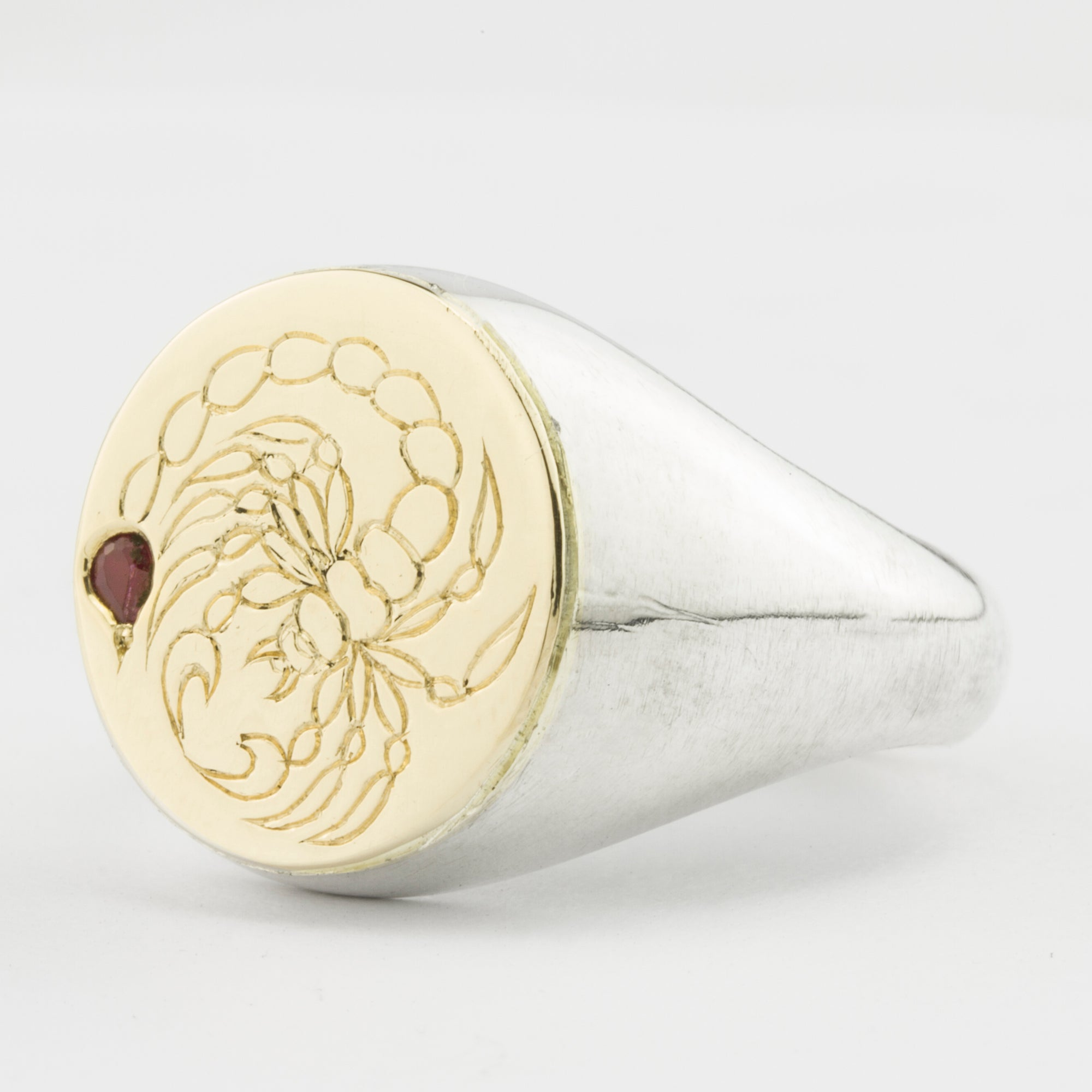 Henson x Thanks Tattoo - Scorpion Ring Gold