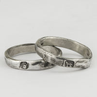 Hallmarked Stacker Rings Set