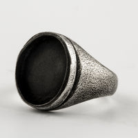 Missing Stone Signet Ring
