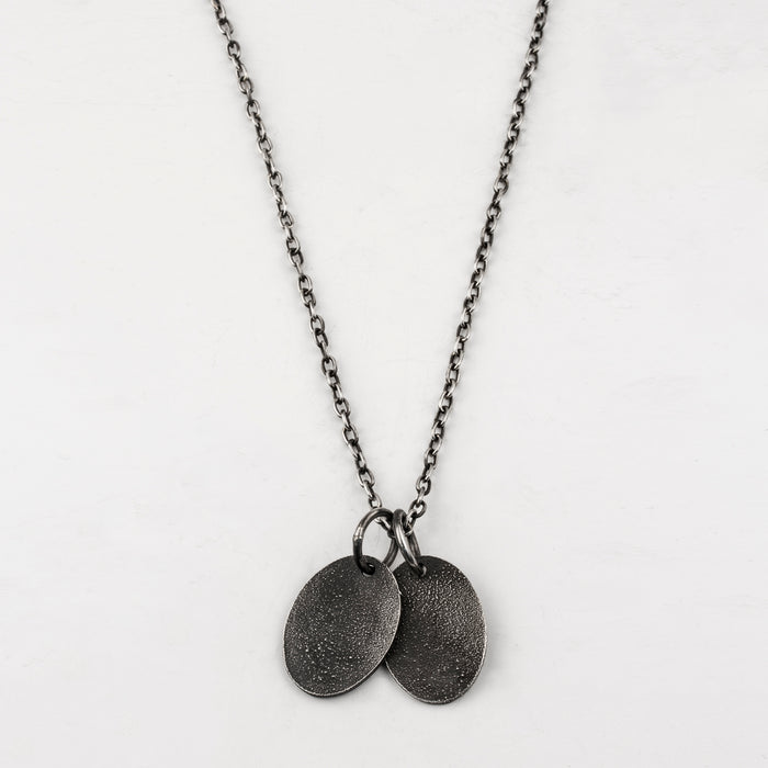 Oval Tags Necklace
