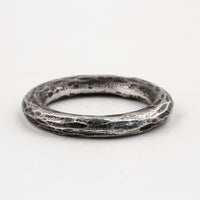 Carved Stacker Ring