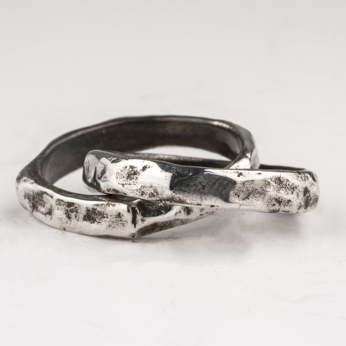 Carved Infinity Ring