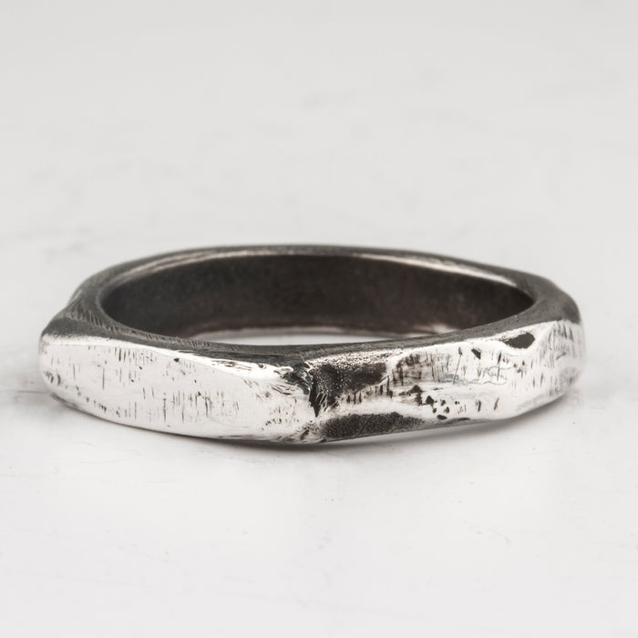Henson Carved Stacker rings - Grey ZC1guCPx
