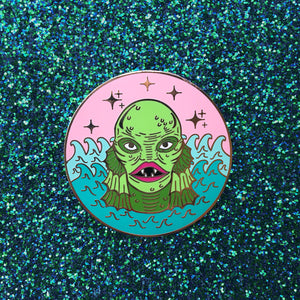The Creature Enamel Pin