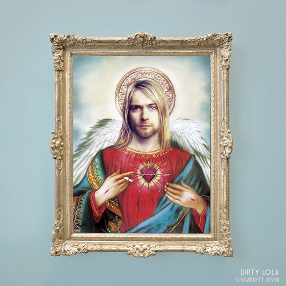 Our Saint of Teen Spirit Art Print