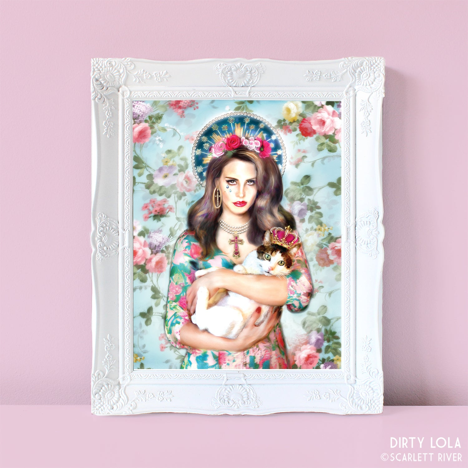 Our Lady Del Rey Art Print