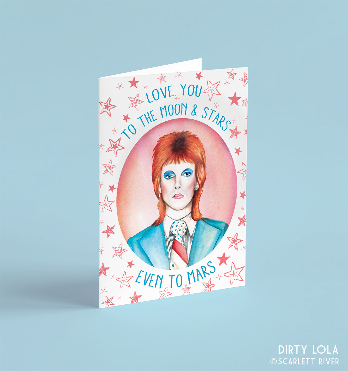 Love You To Mars Card
