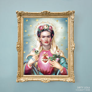 Our Lady of Mexico Art Print