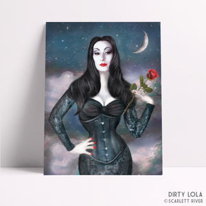 Deadly Nightshade Art Print