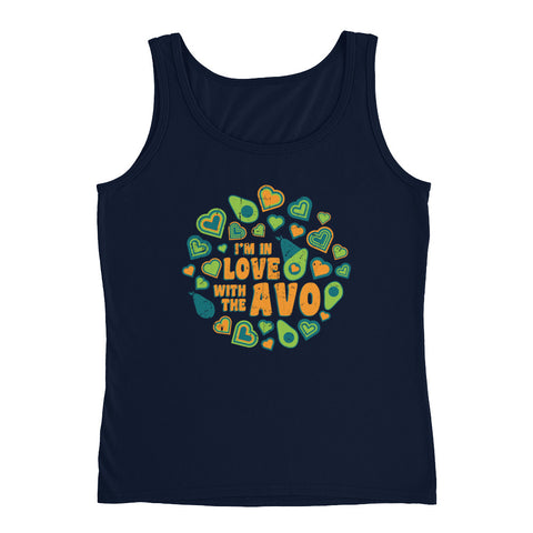 I'm in Love with the Avo! - Ladies' Tank