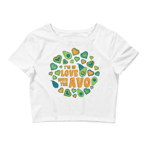 I'm in Love with the Avo! - Women's Crop Tee