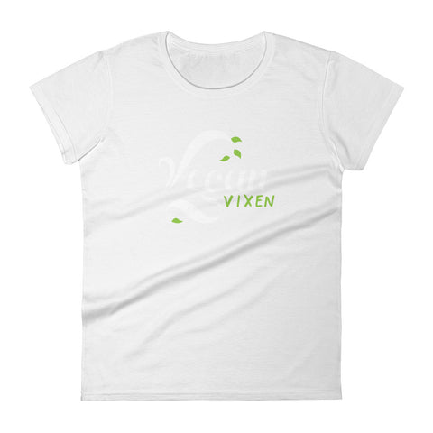 Vegan Vixen - Women's short sleeve t-shirt