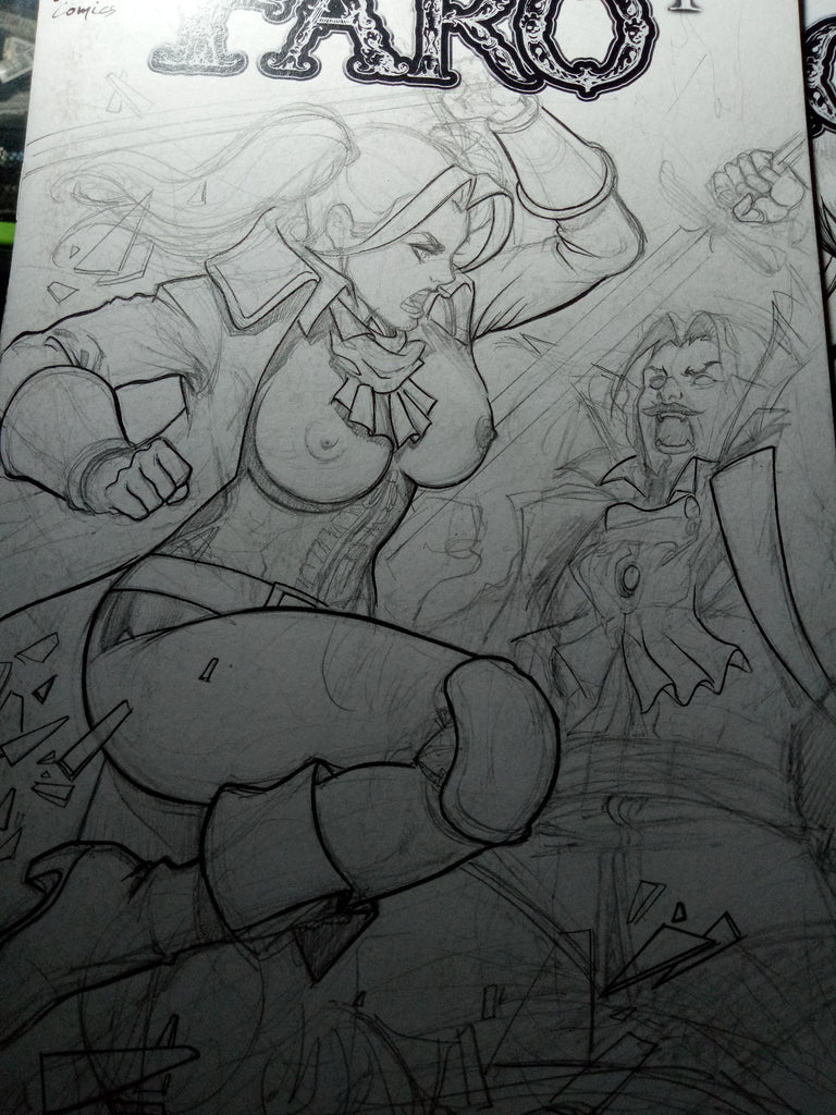 2 New Harley Sketches -- Action 15 Review