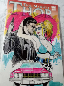 True Romance -- Punisher & Harley Quinn Tribute -- Action 22 Review